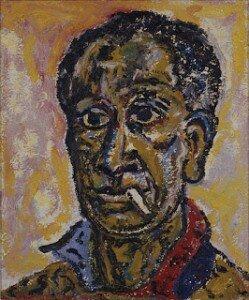 Beauford Delaney: Auto-portrait (1965)
