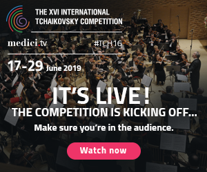 Get Ready for the XVI International Tchaikovsky Competition!