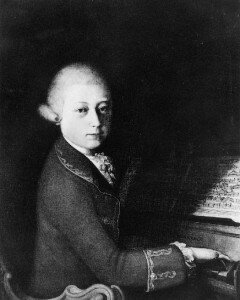 Mozart, early 1770s