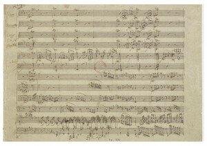 Mozart's Quintet K. 452 autograph