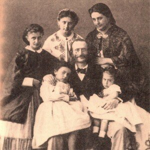 Offenbach's family