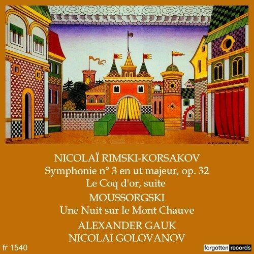 Rimsky-Korsakov – Moussorgsky