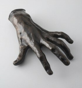 Pianist's hand by August Rodin