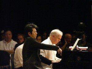 Lang Lang in a masterclass with Daniel Barenboim
