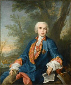 Jacopo Amigoni: Portrait of the Soprano Carlo Broschi, known as Il Farinelli (1752)