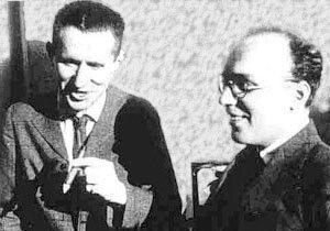 Bertold Brecht and Kurt Weill