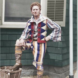 Grainger in one of his toweling outfits   © Percy Grainger Museum, Melbourne