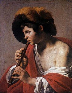 Boy Playing a Recorder by Hendrick ter Brugghen © Wikimedia Commons