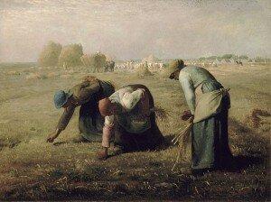 Millet: Gleaners (1857) (Musee d'Orsay, Paris)