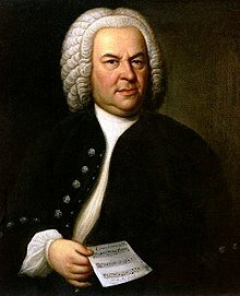 J S Bach © Wikimedia Commons