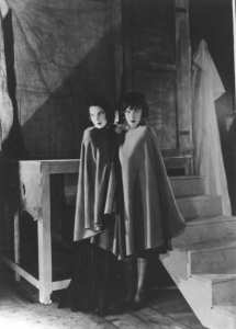 Tilly Losch and Lotte Lenya as Anna II and Anna I in The Seven Deadly Sins in 1933.
