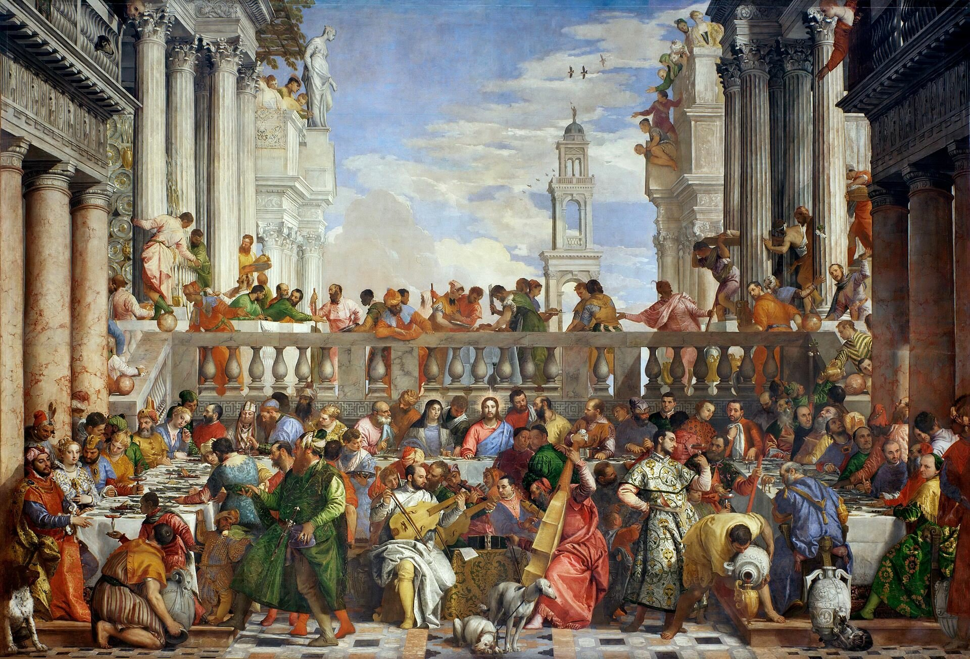 Musicians and Artists: Ortiz and Veronese