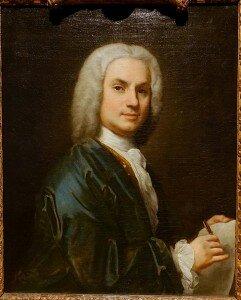 Amigoni: Self-portrait (ca. 1730-1735) (Hessisches Landesmuseum, Darmstadt)