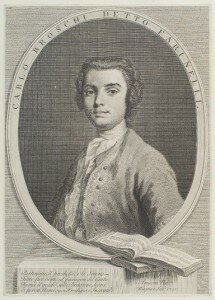 Wagner: Carlo Broschi (Farinelli) after Amigoni (1735) (National Portrait Gallery, London)