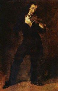 Delacroix: Paganini (1832)
