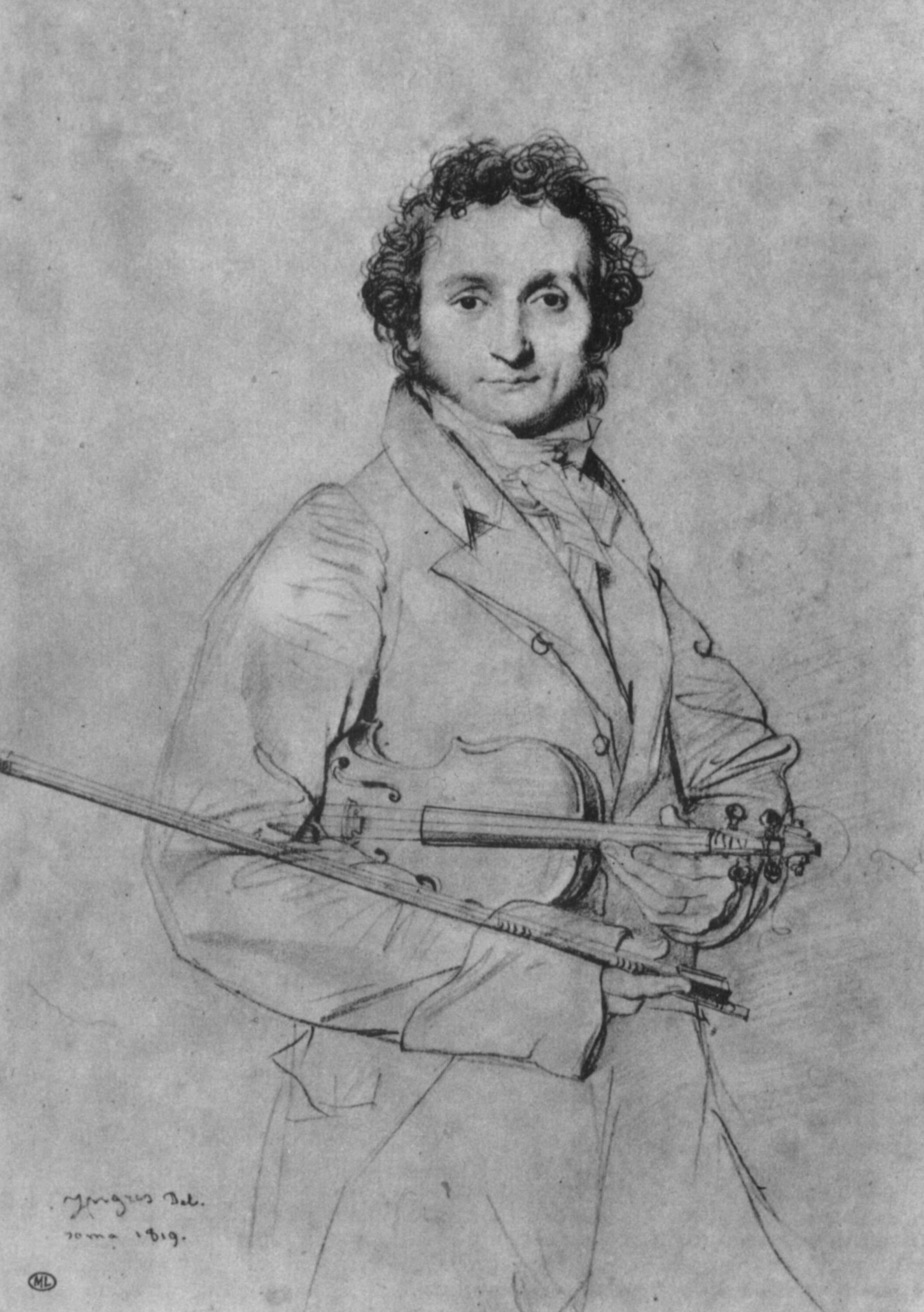 Musicians and Artists: Virtuosos and Ingres