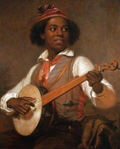 Mount: The Banjo Player (1856) (Museums of Stony Brook, NY)