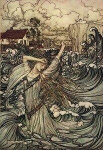 Ondine by Arthur Rackham