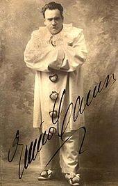Enrico Caruso  as Canio