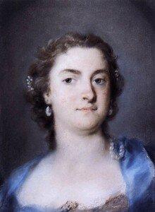 Carriera: Portrait of Faustina Bordoni Hasse (1730s) (Museo del Settecento Veneziano, Ca' Rezzonico, Venice)