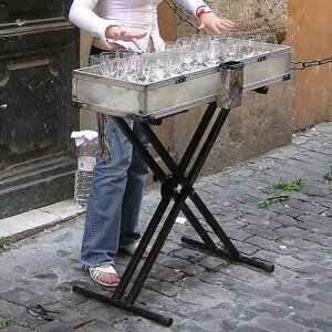 Glass Armonica in Rome© Wikimedia Commons