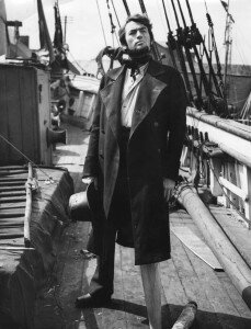Gregory Peck as Catpain Ahab