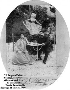 Ruggero Leoncavallo and Berthe Rambaud
