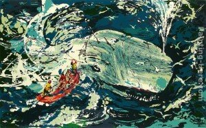 Blue Whale, Moby Dick Suite by LeRoy Neiman