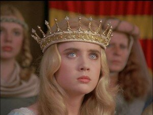 Lysette Anthony as Rowena (1982)