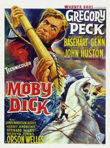 Movie Poster Moby Dick 1956