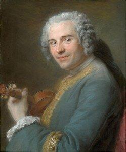 La Tour: Portrait of Jean-Joseph Cassanéa de Mondonville (1746-47) (Art Institute of Chicago)