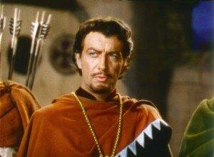 Robert Taylor as Ivanhoe (1952)