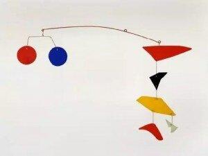 Calder: Enseign de Lunettes