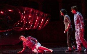 Idomeneo 2019: Nicole Chevalier (Elettra), Ying Fang (Ilia), Paula Murrihy (Idamante)  © SF/Ruth Walz