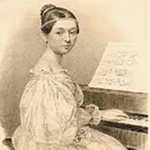 "Clara Wieck-Schumann (1819-1896) <br/> ""Composing Gives Me Great Pleasure"""