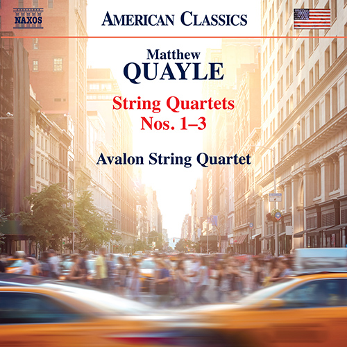 New York Craziness – Quayle's String Quartet No. 2