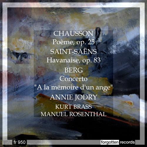A Violinist's Love Song – Chausson – <em>Poème</em>