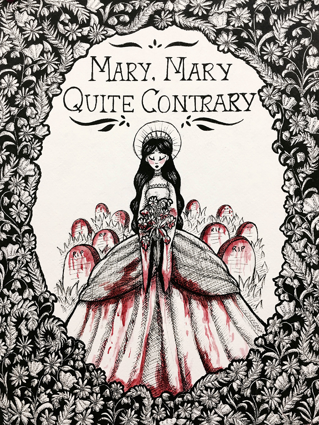 """""""Mary, Mary, Quite Contrary"""" <br></noscript><img class="""