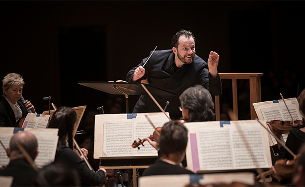 Andris Nelsons with the Boston Symphony Orchestra