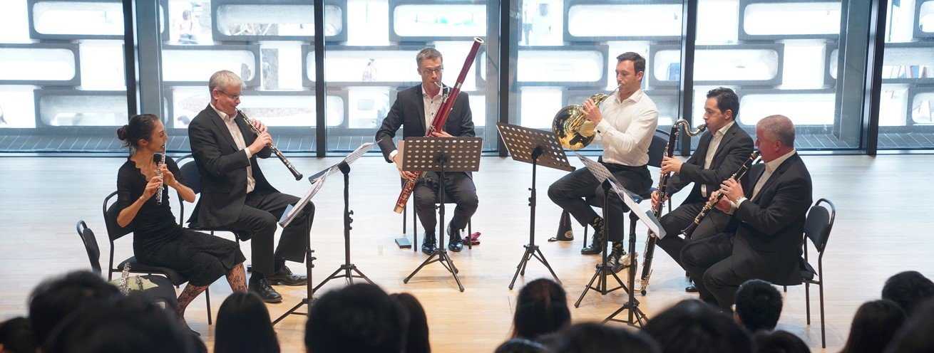 Summer Nights in the Americas (Woodwind Quintet)