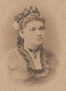 Minona von Stackelberg in her youth