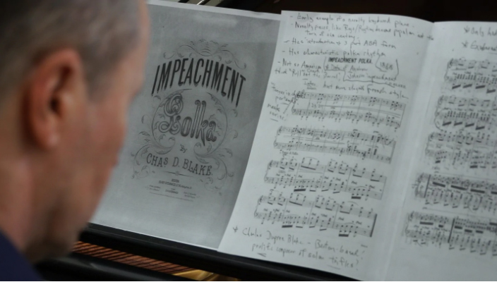 'Impeachment Polka': How a composer in 1868 sought to capitalize on America's political obsession