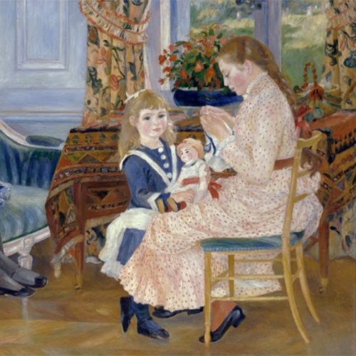 Painted and Musical Portraits of Children<br/>Auguste Renoir and Jean Françaix