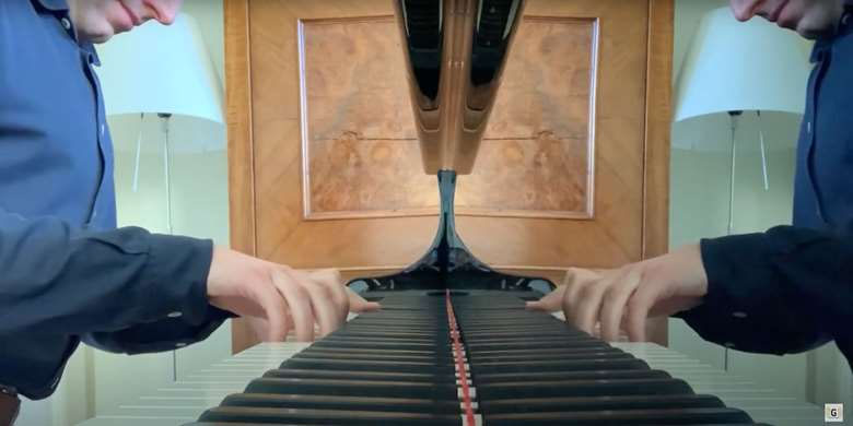 Recording Bach's Three-Part Inventions at Home
