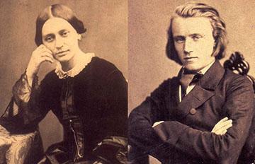 Clara Schumann and Johannes Brahms