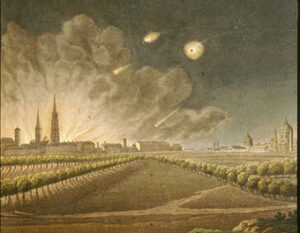 French Bombardment of Vienna 1809