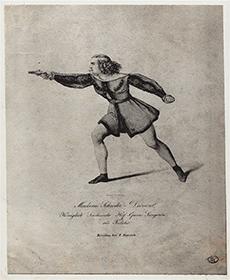 Wilhelmine Schröder-Devrient as Fidelio in 1822