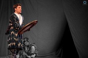 De Barbeyrac as Tamino in Mozart's The Magic Flute