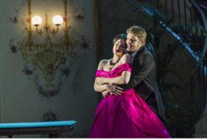 De Barbeyrac as Alfredo in Verdi's La Traviata