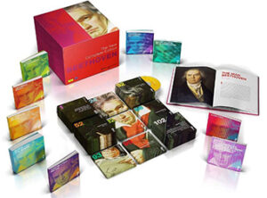 Beethoven's complete music works box set